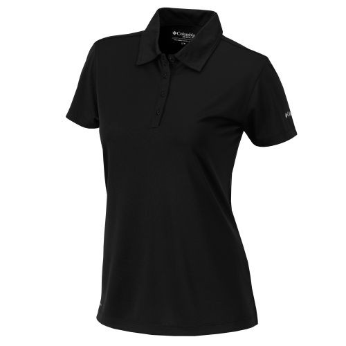 Black - 16S15WP Women's Omni-Wick Birdie Polo | Athleticwear.ca