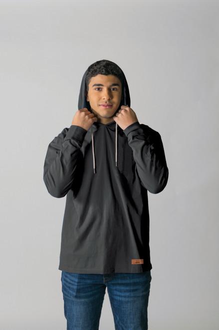 Black - T3000 - Timberlea Unisex Jersey Hoodie | Athleticwear.ca