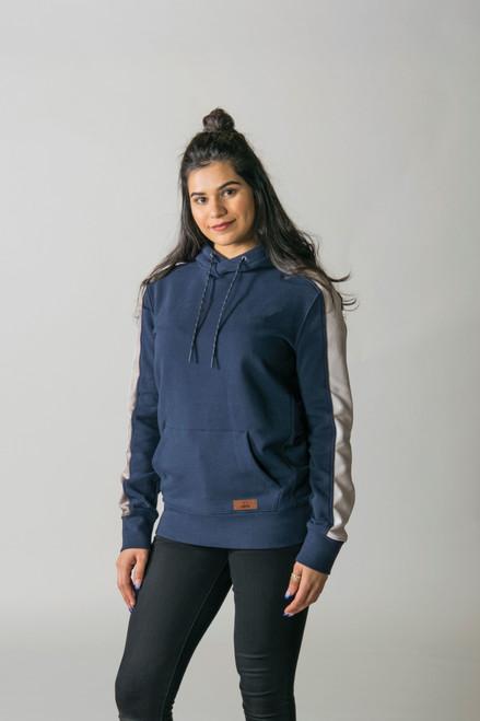 T2002Y Timberlea Youth Fleece Colourblock Hoodie | Athleticwear.ca
