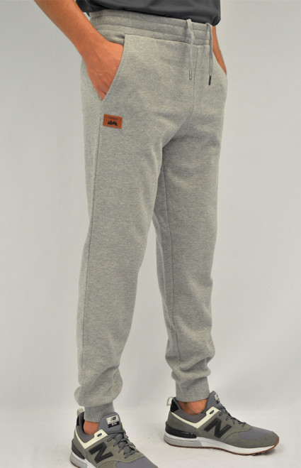 Oxford Grey - Timberlea Unisex Fleece Jogger | Athleticwear.ca