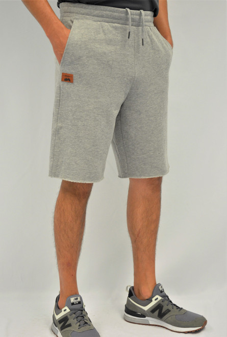 Oxford Grey - T2004 Timberlea Unisex Fleece Short | Athleticwear.ca