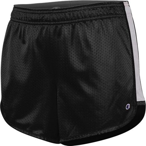Black/Heather Grey - 8220BL Women's Ignite Short | Athleticwear.ca