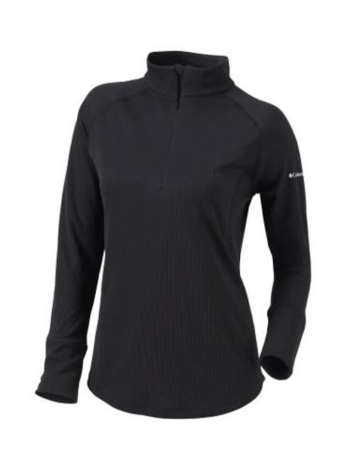 20F05WL Women's Omni-Wick Flop Shot 1/4 Zip Sweatshirt | AthleticWear.ca