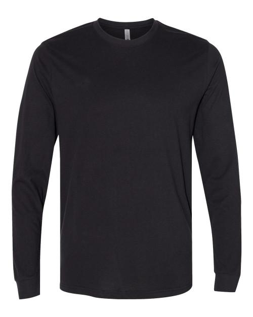 6411 Sueded Long Sleeve Crewneck Sweatshirt | AthleticWear.ca