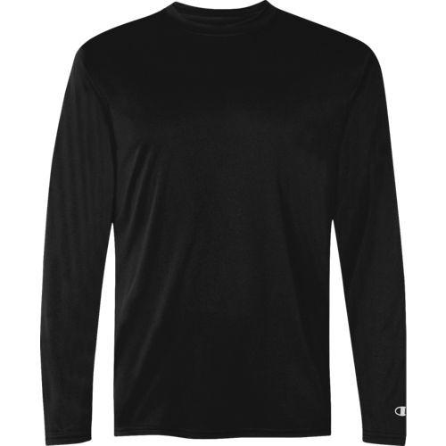 Champion 2656TU Double Dry Long Sleeve Tee | Athleticwear.ca
