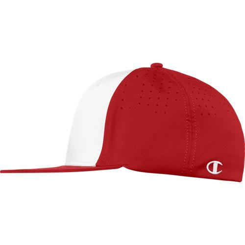 Champion 4103NU Flat Bill Stretch Fit Hat | Athleticwear.ca