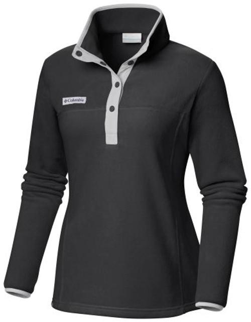 Champion C2007WF Women's Benton Springs Half Snap Fleece Pullover Jacket | Athleticwear.ca