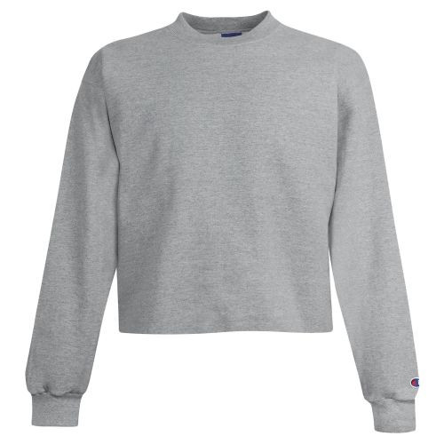 Champion S690C Girl's Powerblend Cropped Crew Sweatshirt | Athleticweaar.ca