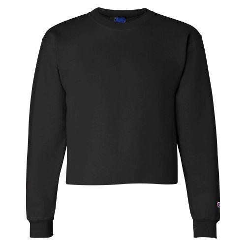 Champion S600C Women's Powerblend Cropped Crew Sweatshirt | Athleticwear.ca