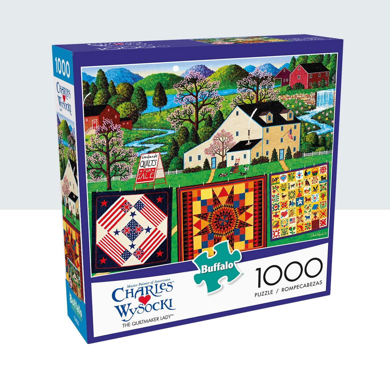 Shop Charles Wysocki Jigsaw Puzzles