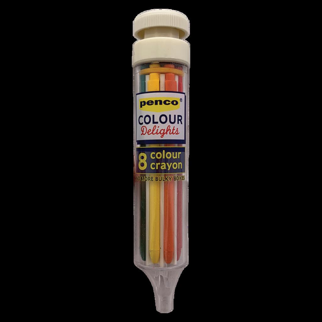 8 Colour Crayon