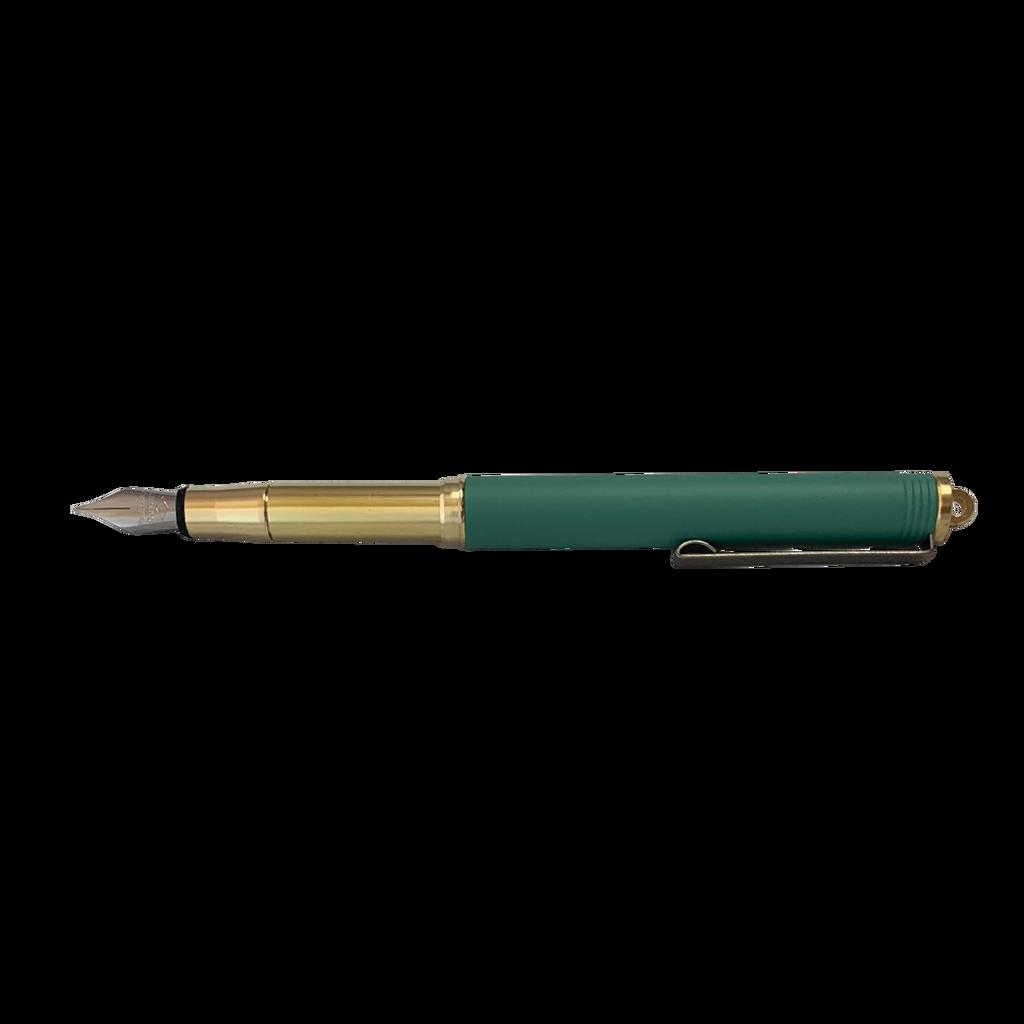 Brass Bullet Fountain Pen FG