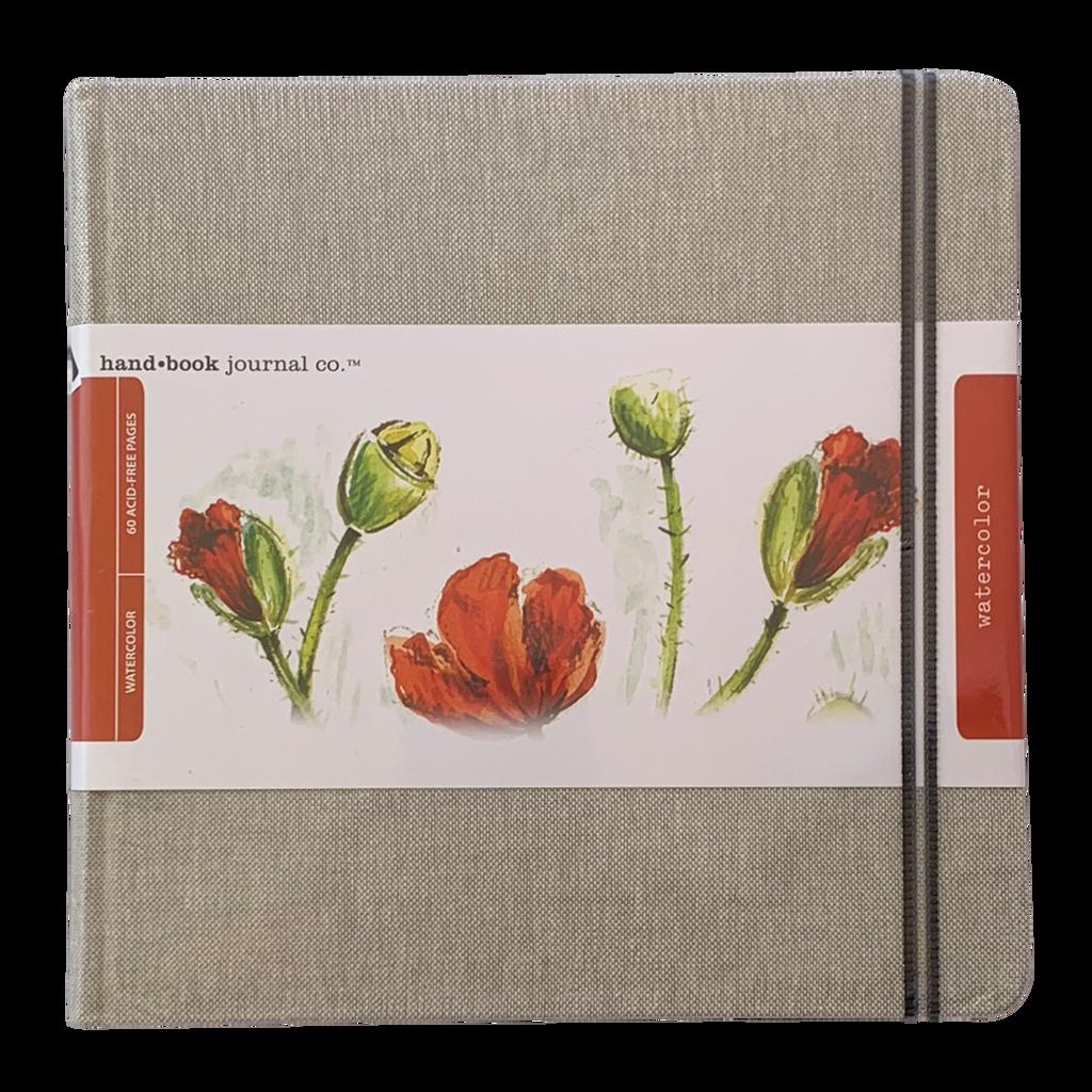 Watercolor Journal 8.25x8.25
