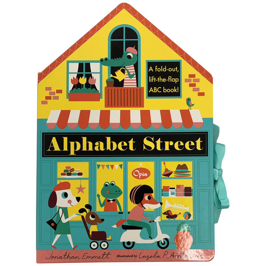 Alphabet Street Lift Flap
