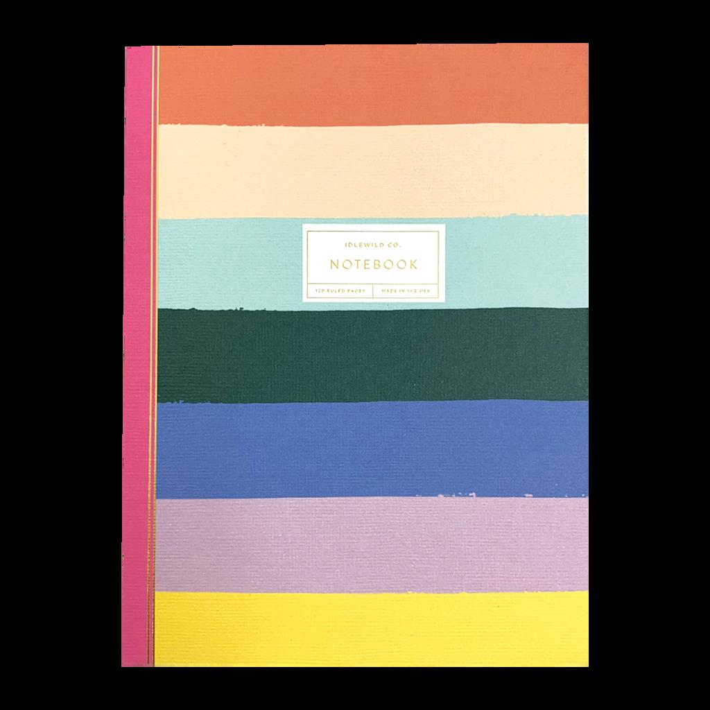 Rainbow Stripe Notebook