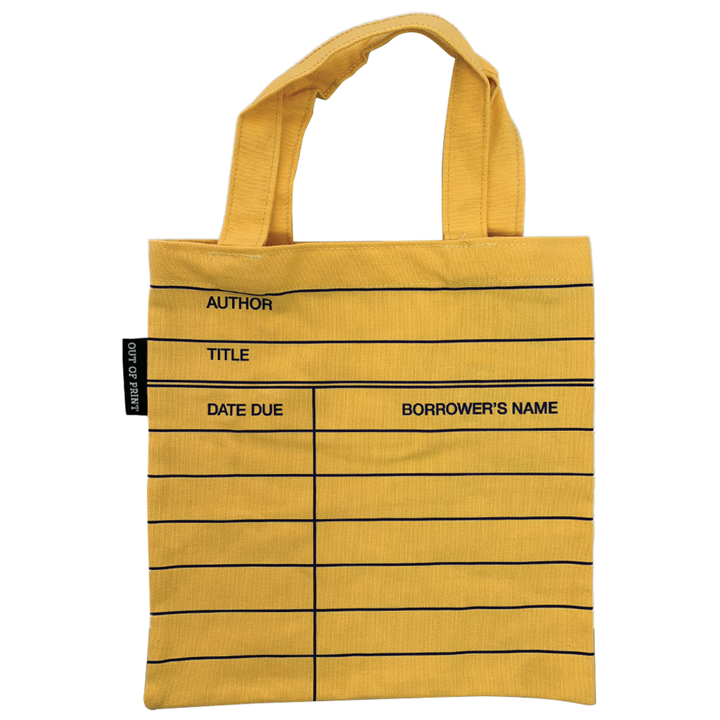 Library Card Tote Bag - Kids