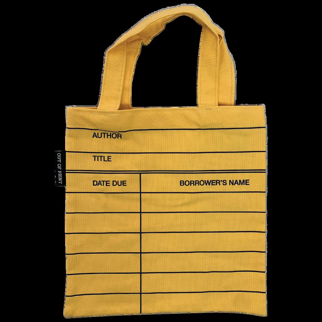 Library Card Tote Bag - Kids