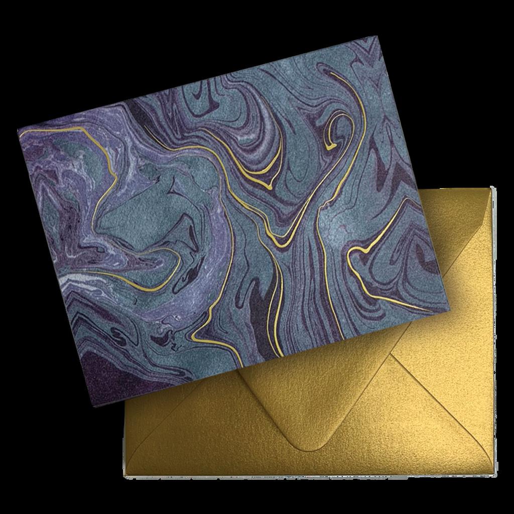 Blue Marble Foil A2 Note