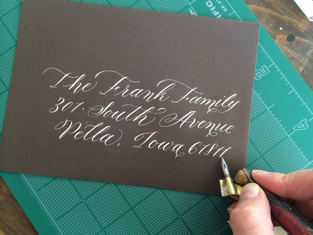 Designing Monograms with Copperplate Calligraphy