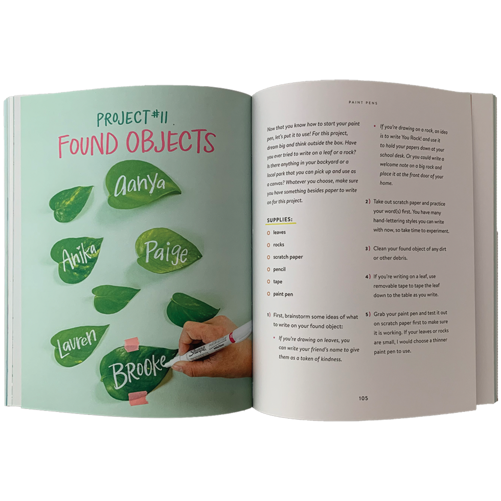 Kids' Book of Hand Lettering