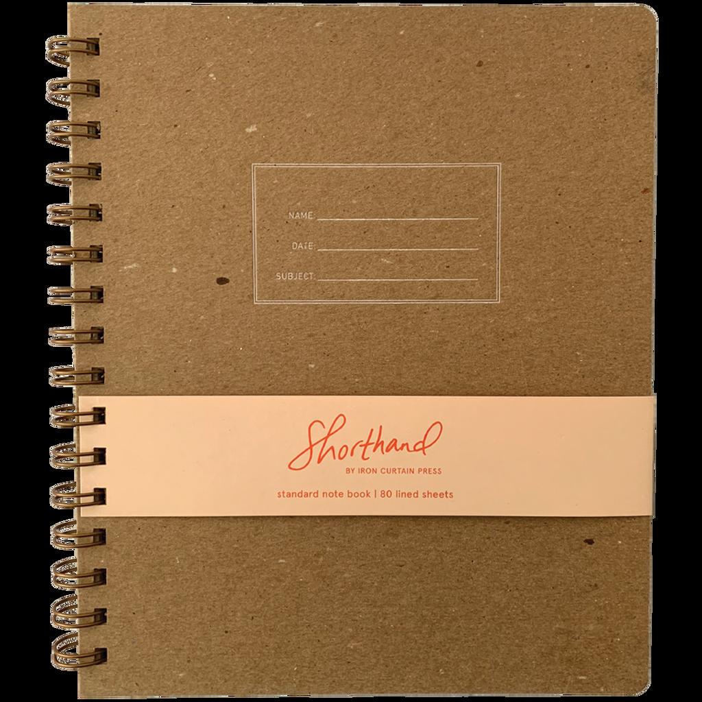 Standard Notebook Lined