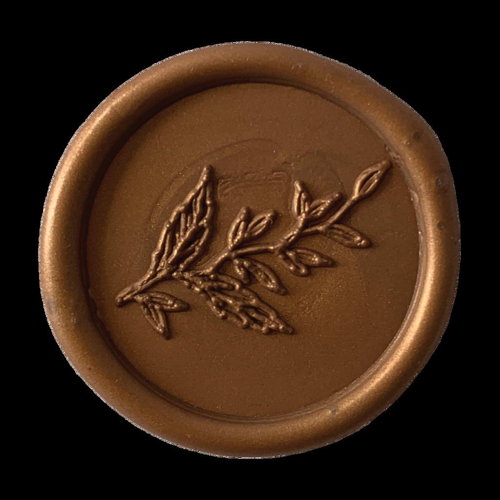Foliage Wax Seal