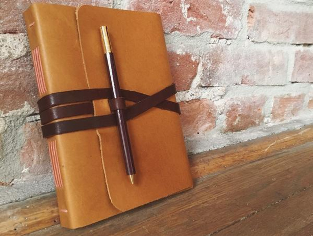 Small Handmade Leather Journal