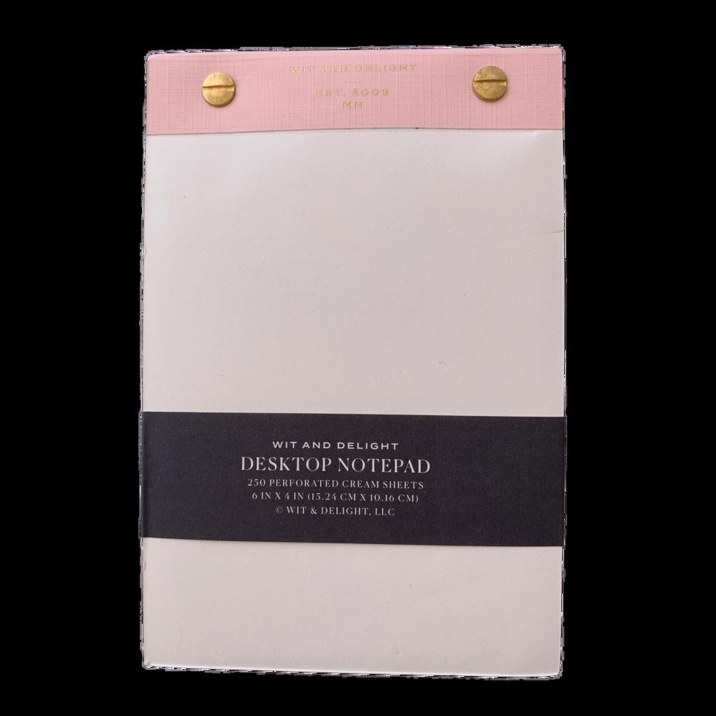 Foil-Edged Desktop Notepad