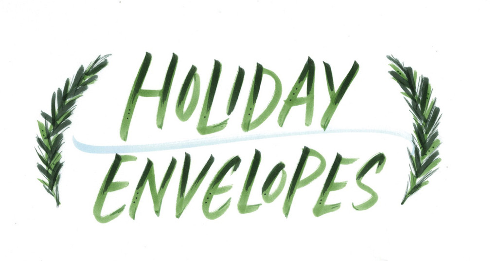 Holiday Envelope Addressing Workshop
