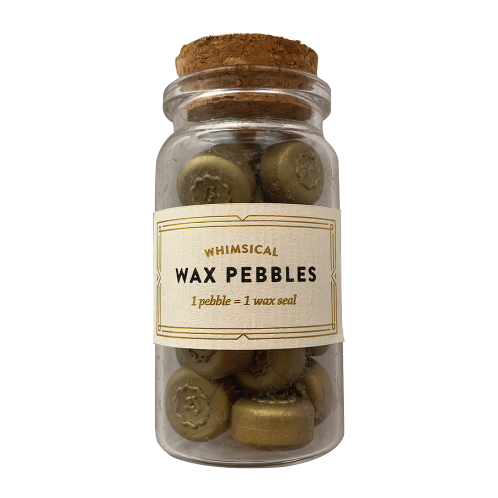Bottled Wax Pebbles