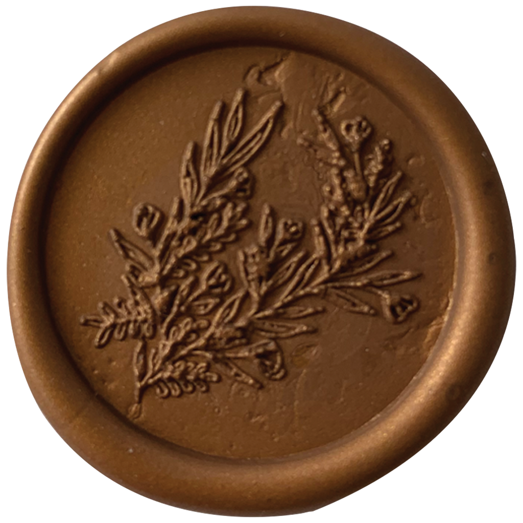Carnation Wax Seal