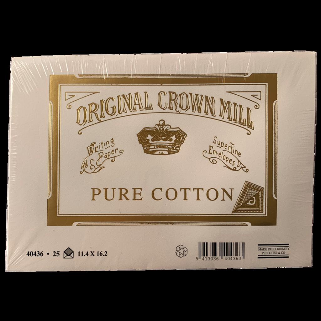 Crown Mill Cotton Envelopes