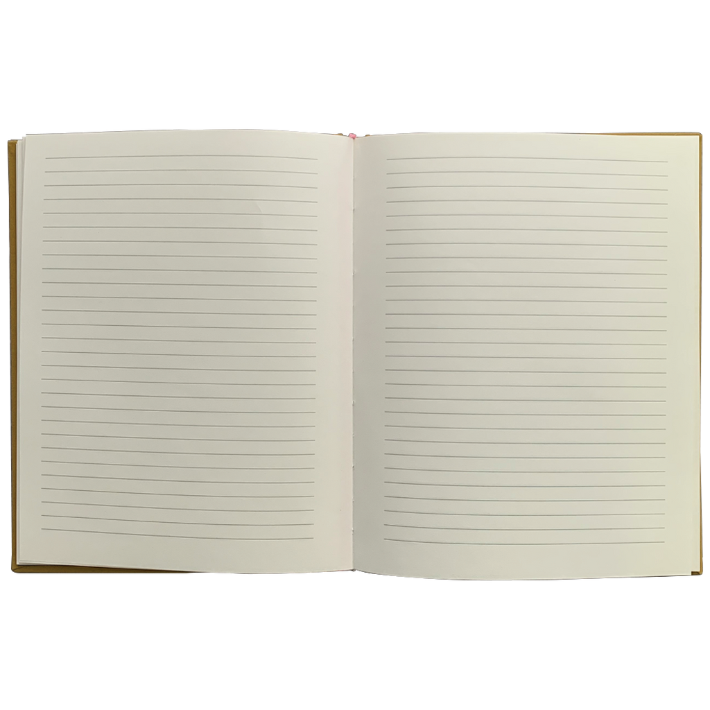 Ochre Lined Journal