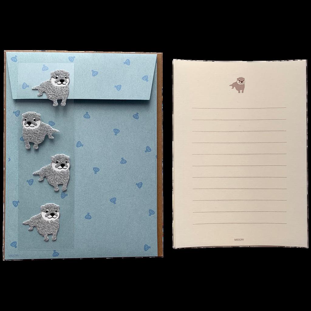 Letter Set Otter