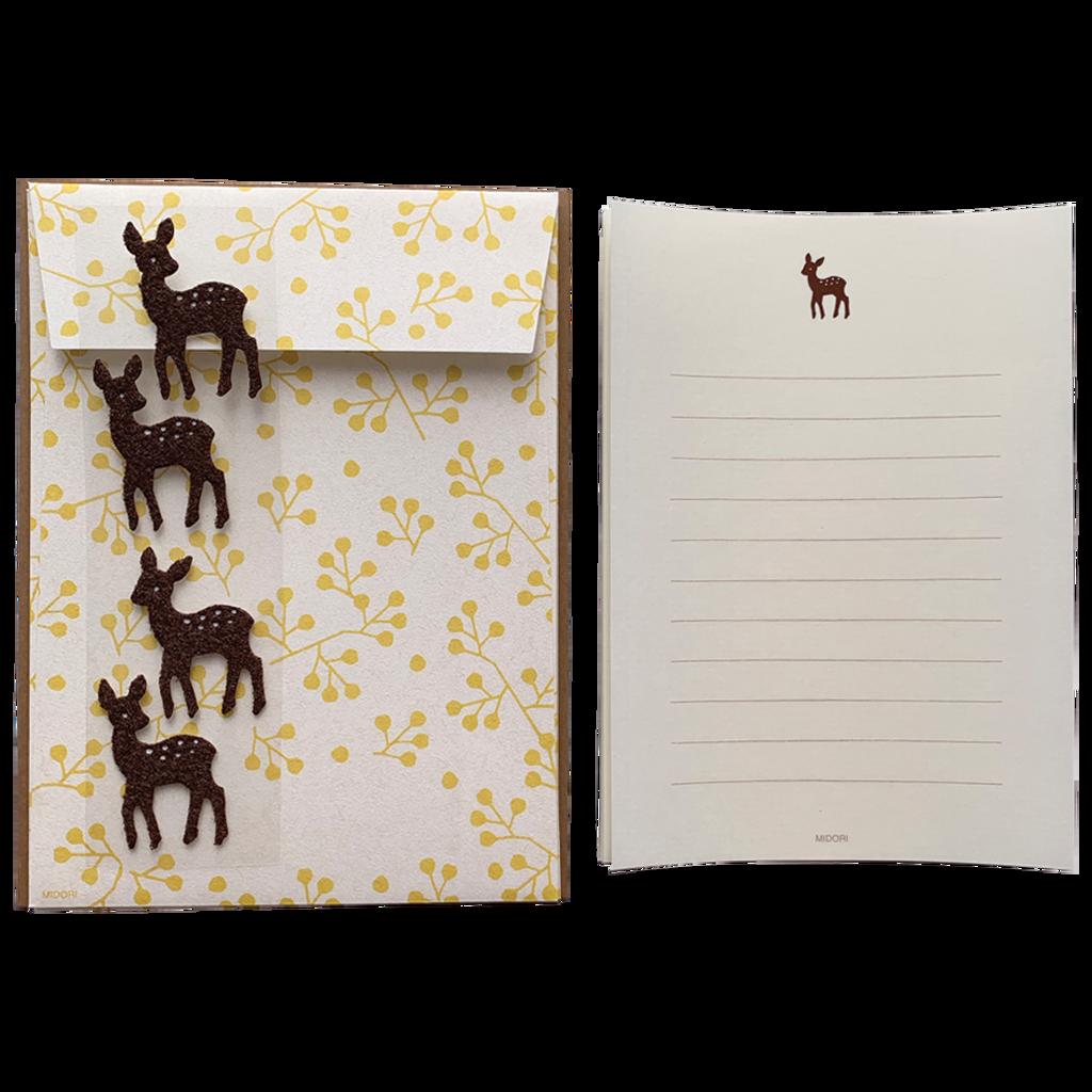 Letter Set Deer