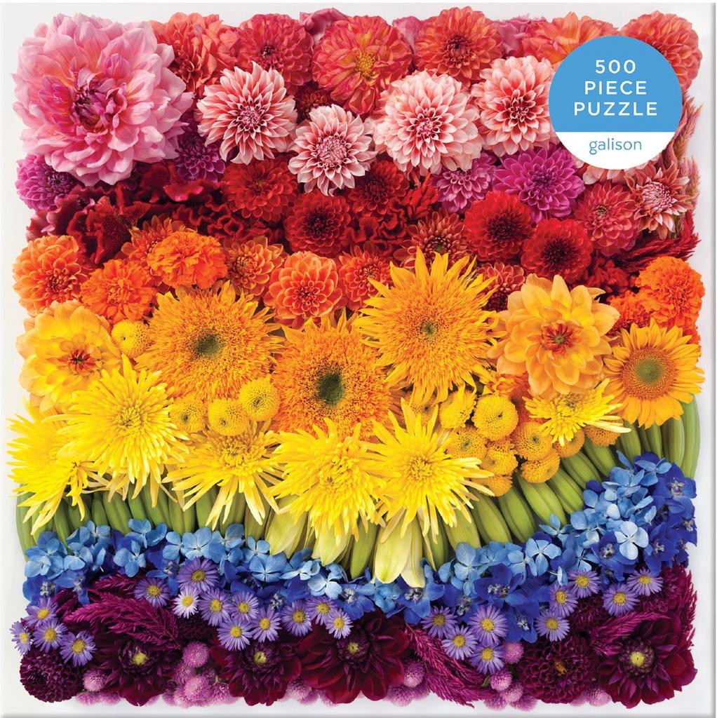 Rainbow Flowers Puzzle