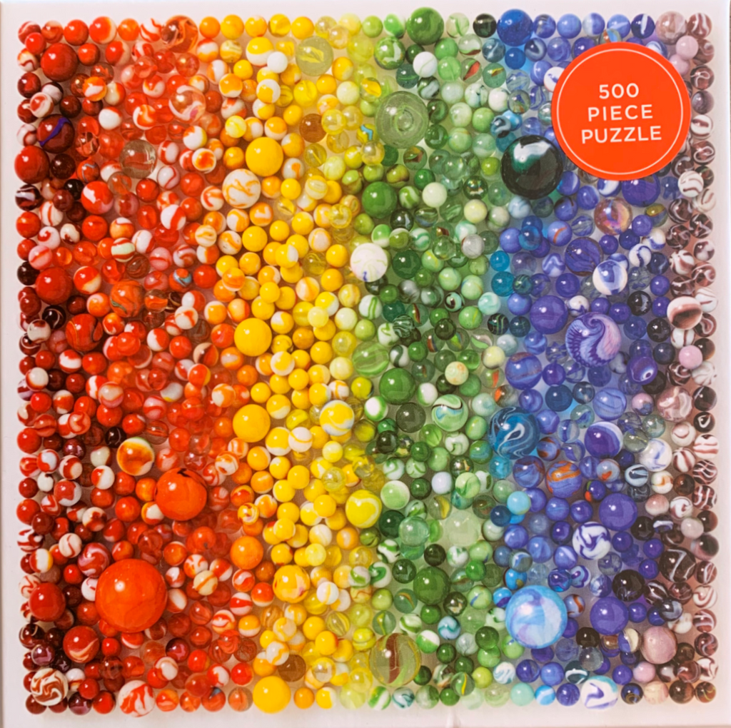 Rainbow Marbles Puzzle