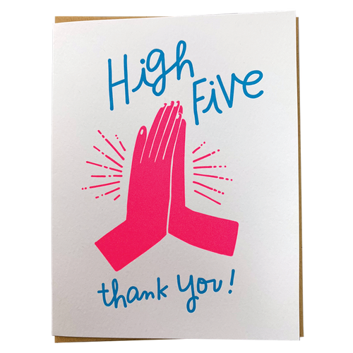 High Five Thank You