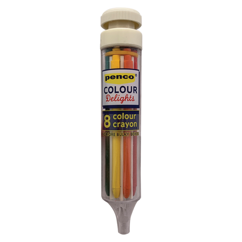 8 Colour Crayon