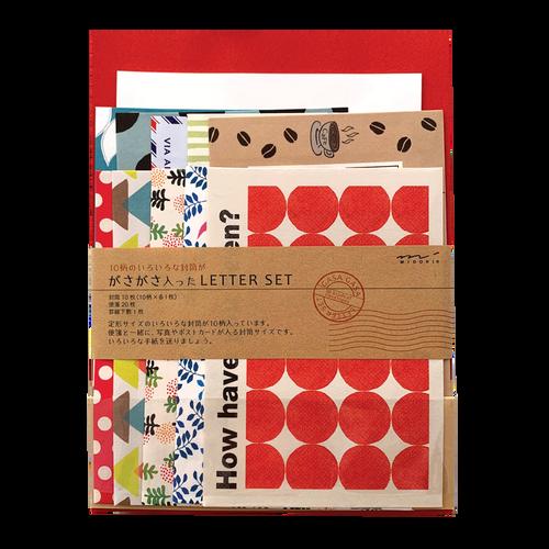 Letter Kit Multi Red