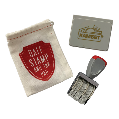 Date Stamp & Ink Pad