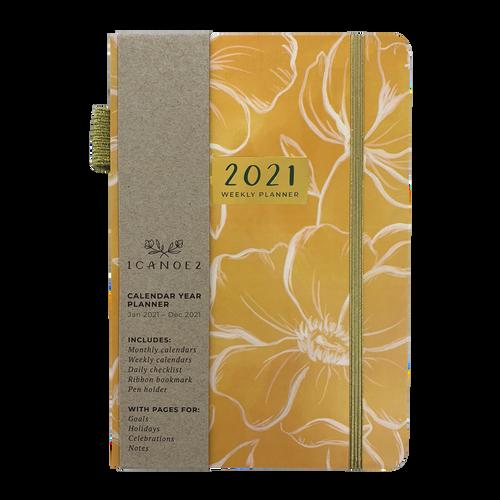 Golden Poppy Planner Calendar