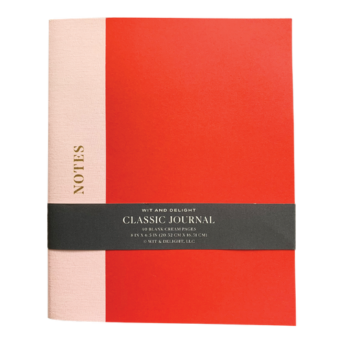 Red/Pink Classic Journal