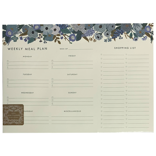 Garden Party Meal Planner