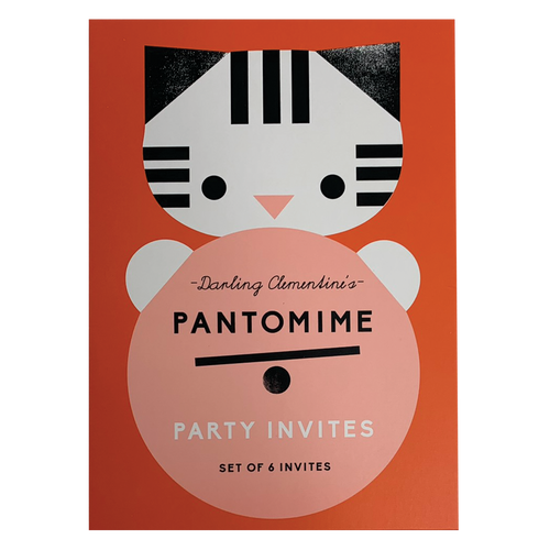 Pantomime Party Invite Set