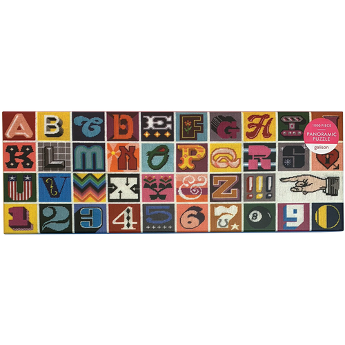 Needlepoint A to Z