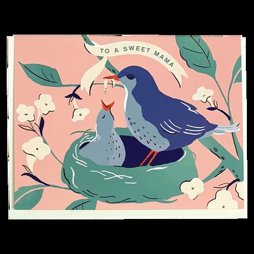 Sweet Mama Baby Bird