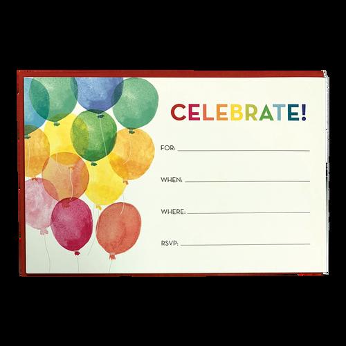 Balloons Invite