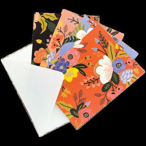 Lively Floral Card Set