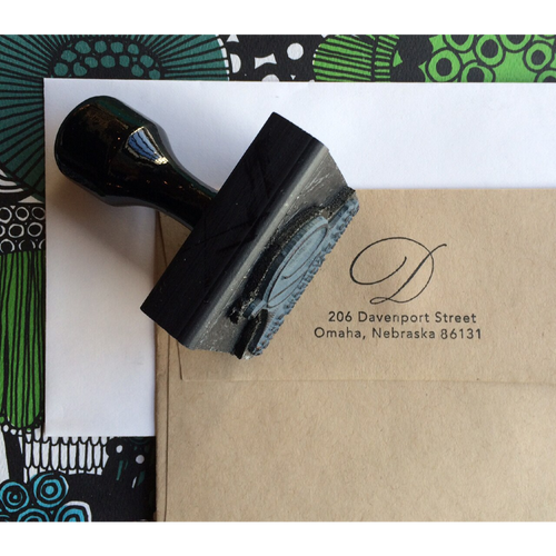 Intro to Uppercase Copperplate + Return Address Stamp